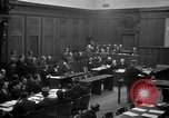 Image of war crimes trials Nuremberg Germany, 1947, second 26 stock footage video 65675071947