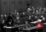 Image of war crimes trials Nuremberg Germany, 1947, second 28 stock footage video 65675071947