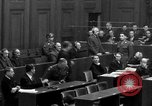 Image of war crimes trials Nuremberg Germany, 1947, second 29 stock footage video 65675071947
