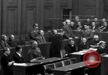Image of war crimes trials Nuremberg Germany, 1947, second 30 stock footage video 65675071947