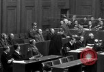 Image of war crimes trials Nuremberg Germany, 1947, second 31 stock footage video 65675071947