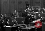 Image of war crimes trials Nuremberg Germany, 1947, second 32 stock footage video 65675071947