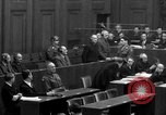 Image of war crimes trials Nuremberg Germany, 1947, second 33 stock footage video 65675071947