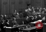Image of war crimes trials Nuremberg Germany, 1947, second 34 stock footage video 65675071947