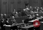 Image of war crimes trials Nuremberg Germany, 1947, second 35 stock footage video 65675071947