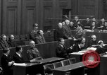 Image of war crimes trials Nuremberg Germany, 1947, second 36 stock footage video 65675071947