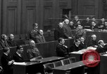 Image of war crimes trials Nuremberg Germany, 1947, second 37 stock footage video 65675071947