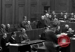 Image of war crimes trials Nuremberg Germany, 1947, second 39 stock footage video 65675071947