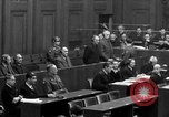 Image of war crimes trials Nuremberg Germany, 1947, second 40 stock footage video 65675071947