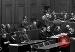 Image of war crimes trials Nuremberg Germany, 1947, second 41 stock footage video 65675071947
