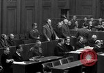 Image of war crimes trials Nuremberg Germany, 1947, second 42 stock footage video 65675071947