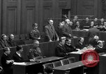 Image of war crimes trials Nuremberg Germany, 1947, second 44 stock footage video 65675071947