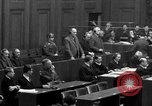 Image of war crimes trials Nuremberg Germany, 1947, second 45 stock footage video 65675071947