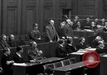 Image of war crimes trials Nuremberg Germany, 1947, second 46 stock footage video 65675071947