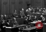Image of war crimes trials Nuremberg Germany, 1947, second 47 stock footage video 65675071947