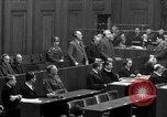 Image of war crimes trials Nuremberg Germany, 1947, second 48 stock footage video 65675071947
