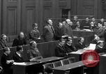 Image of war crimes trials Nuremberg Germany, 1947, second 49 stock footage video 65675071947