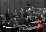 Image of war crimes trials Nuremberg Germany, 1947, second 50 stock footage video 65675071947