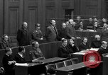 Image of war crimes trials Nuremberg Germany, 1947, second 51 stock footage video 65675071947