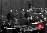 Image of war crimes trials Nuremberg Germany, 1947, second 52 stock footage video 65675071947