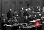 Image of war crimes trials Nuremberg Germany, 1947, second 53 stock footage video 65675071947