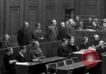 Image of war crimes trials Nuremberg Germany, 1947, second 54 stock footage video 65675071947