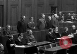 Image of war crimes trials Nuremberg Germany, 1947, second 55 stock footage video 65675071947
