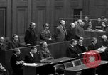 Image of war crimes trials Nuremberg Germany, 1947, second 56 stock footage video 65675071947