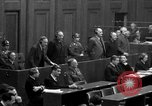Image of war crimes trials Nuremberg Germany, 1947, second 57 stock footage video 65675071947