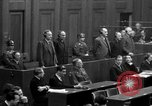 Image of war crimes trials Nuremberg Germany, 1947, second 58 stock footage video 65675071947