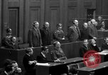 Image of war crimes trials Nuremberg Germany, 1947, second 59 stock footage video 65675071947