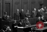 Image of war crimes trials Nuremberg Germany, 1947, second 60 stock footage video 65675071947