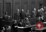 Image of war crimes trials Nuremberg Germany, 1947, second 61 stock footage video 65675071947