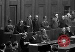 Image of war crimes trials Nuremberg Germany, 1947, second 62 stock footage video 65675071947