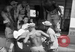 Image of Injured  U.S.prisoners of war removed from air evacuation planes Leyte Philippines, 1945, second 26 stock footage video 65675071949