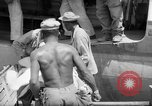 Image of Injured  U.S.prisoners of war removed from air evacuation planes Leyte Philippines, 1945, second 31 stock footage video 65675071949