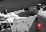 Image of Injured  U.S.prisoners of war removed from air evacuation planes Leyte Philippines, 1945, second 39 stock footage video 65675071949