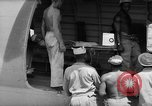 Image of Injured  U.S.prisoners of war removed from air evacuation planes Leyte Philippines, 1945, second 42 stock footage video 65675071949