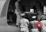 Image of Injured  U.S.prisoners of war removed from air evacuation planes Leyte Philippines, 1945, second 43 stock footage video 65675071949
