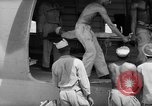 Image of Injured  U.S.prisoners of war removed from air evacuation planes Leyte Philippines, 1945, second 44 stock footage video 65675071949