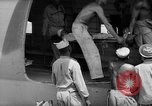 Image of Injured  U.S.prisoners of war removed from air evacuation planes Leyte Philippines, 1945, second 45 stock footage video 65675071949
