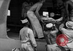 Image of Injured  U.S.prisoners of war removed from air evacuation planes Leyte Philippines, 1945, second 47 stock footage video 65675071949