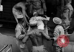 Image of Injured  U.S.prisoners of war removed from air evacuation planes Leyte Philippines, 1945, second 51 stock footage video 65675071949