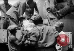 Image of Injured  U.S.prisoners of war removed from air evacuation planes Leyte Philippines, 1945, second 59 stock footage video 65675071949