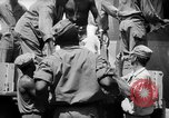 Image of Injured  U.S.prisoners of war removed from air evacuation planes Leyte Philippines, 1945, second 60 stock footage video 65675071949
