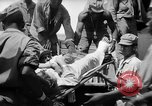 Image of Injured  U.S.prisoners of war removed from air evacuation planes Leyte Philippines, 1945, second 62 stock footage video 65675071949