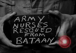 Image of American nurses Leyte Philippines, 1945, second 3 stock footage video 65675071950