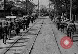 Image of Elements of the U.S. 1st Cavalry Division advancing  Manila Philippines, 1945, second 24 stock footage video 65675071952