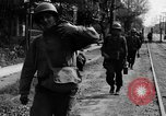 Image of Elements of the U.S. 1st Cavalry Division advancing  Manila Philippines, 1945, second 38 stock footage video 65675071952