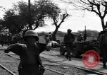 Image of Elements of the U.S. 1st Cavalry Division advancing  Manila Philippines, 1945, second 48 stock footage video 65675071952